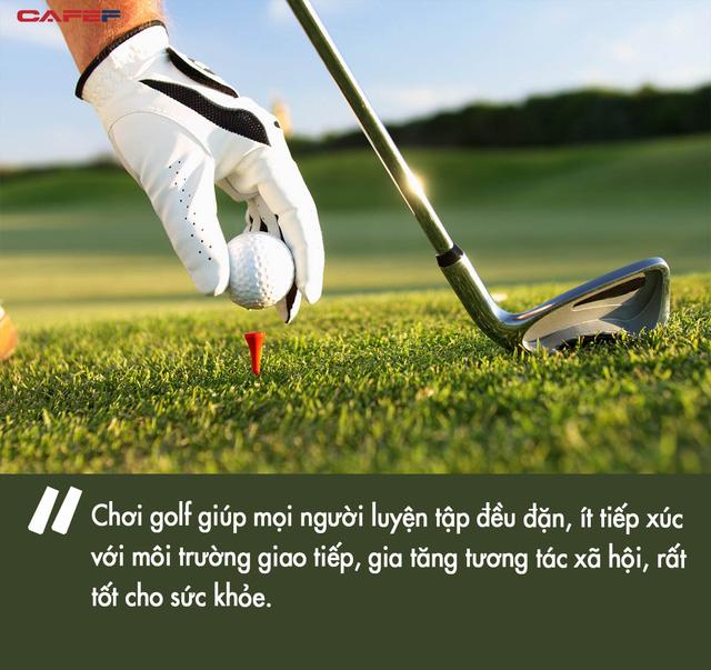 Không chỉ để sang, nghiên cứu mới cho thấy chơi golf ít nhất 1 lần/tháng có thể kéo dài tuổi thọ thêm vài năm  - Ảnh 2.