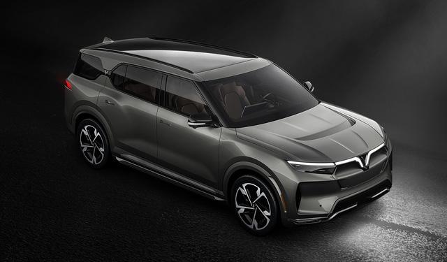 Lộ hình SUV VinFast bản quốc tế: Thiết kế như bản Việt, động cơ điện, pin có thể sản xuất tại Việt Nam - Ảnh 11.