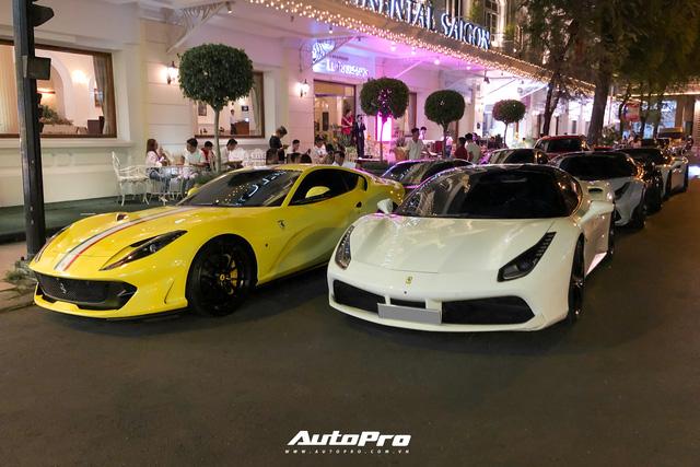 Ferrari chiếm áp đảo, BMW i8 của Bùi Tiến Dũng cũng góp mặt - Ảnh 1.