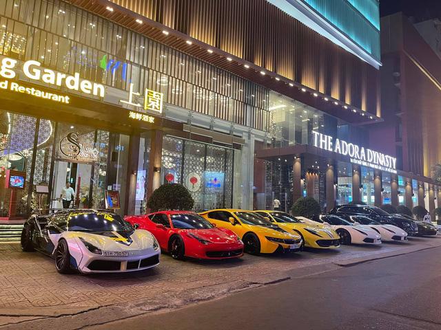 Ferrari chiếm áp đảo, BMW i8 của Bùi Tiến Dũng cũng góp mặt - Ảnh 3.