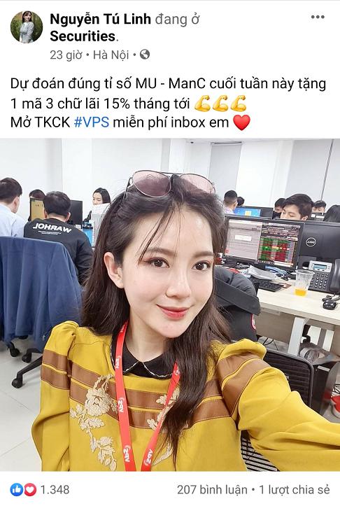 MC thể thao Tú Linh: Sáng làm broker chứng khoán, chiều bán bảo hiểm, tối lên trường quay  - Ảnh 1.
