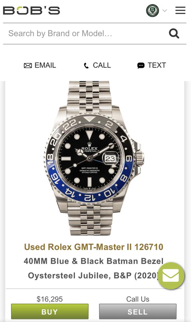 Giới siêu giàu chơi net ở đẳng cấp khác: Có app riêng để mua đồng hồ Rolex, quẹt trái phải như Tinder chốt đồ tiền tỷ - Ảnh 4.