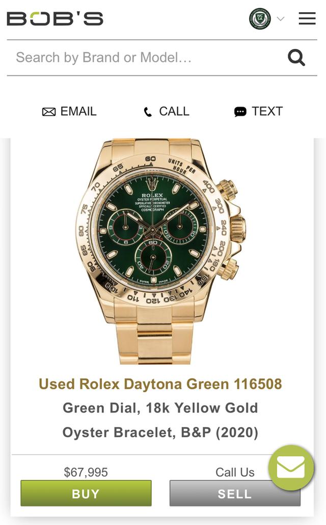 Giới siêu giàu chơi net ở đẳng cấp khác: Có app riêng để mua đồng hồ Rolex, quẹt trái phải như Tinder chốt đồ tiền tỷ - Ảnh 6.