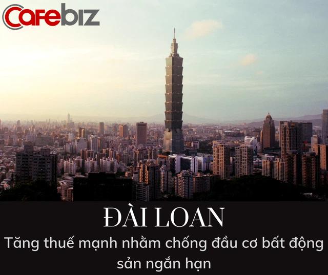 Đài Loan ra luật mới chống đầu cơ BĐS: Đánh thuế lên đến 45% trên tổng lợi nhuận giao dịch nếu sở hữu nhà đất chưa đủ 2 năm, 35% nếu chưa đủ 5 năm - Ảnh 1.
