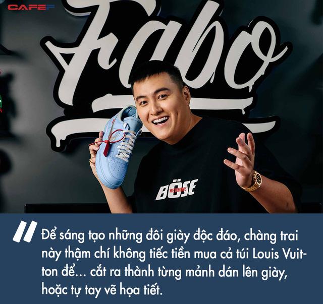 Gia thế khủng ít người biết của YouTuber Fabo Nguyễn: Con trai đại gia điện tử Sài Gòn, tự tin khoe một lần shopping cùng vợ tiêu hết 2,5 tỷ VNĐ  - Ảnh 4.
