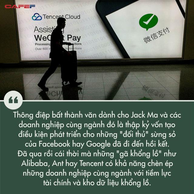 Hứng loạt đòn trừng phạt nặng nề, những gì xảy ra với Jack Ma cho thấy dấu chấm hết với thời hoàng kim của những gã khổng lồ công nghệ Trung Quốc - Ảnh 1.