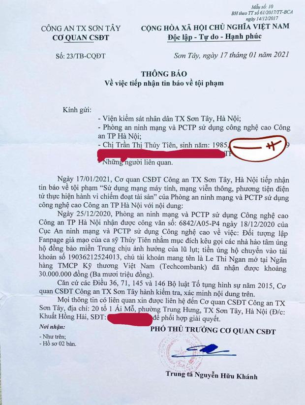 Thuỷ Tiên bị mạo danh tặng thuốc lừa đảo, tiết lộ gây sốc về số tiền bị kẻ gian chiếm trong drama cứu trợ miền Trung - Ảnh 4.