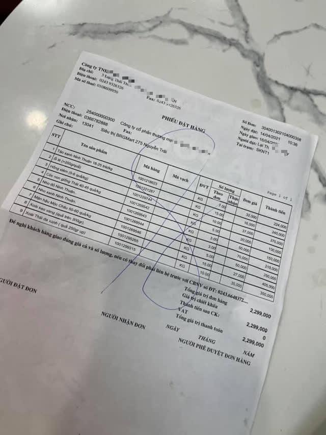 Pha xử lý đi vào lòng đất của nhân viên siêu thị B..Mart: Tận dụng mặt sau của hoá đơn để in tờ rơi, lộ luôn giá nhập hàng cho khách - Ảnh 2.