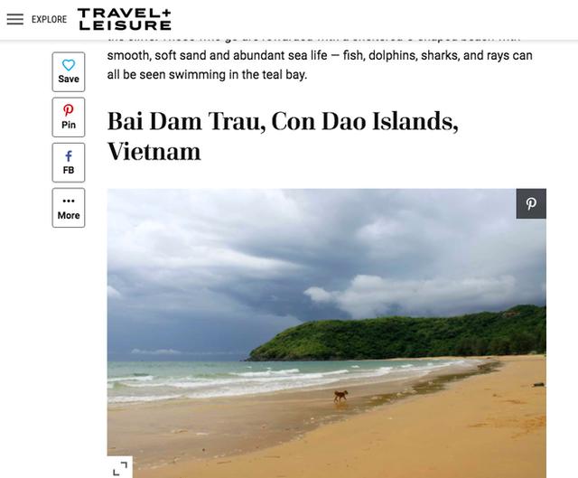 Không phải Phú Quốc, Hạ Long hay Nha Trang, đây là đại diện duy nhất của Việt Nam lọt top 25 bãi biển đẹp nhất thế giới - Ảnh 1.