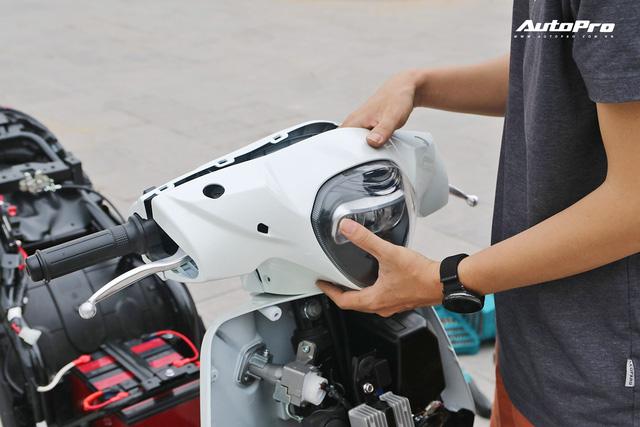 Lột trần VinFast Feliz trong 10 phút, kỹ sư điện đánh giá: Kết cấu đơn giản, dễ sửa, dễ độ nhưng vẫn còn điểm yếu - Ảnh 28.