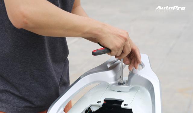 Lột trần VinFast Feliz trong 10 phút, kỹ sư điện đánh giá: Kết cấu đơn giản, dễ sửa, dễ độ nhưng vẫn còn điểm yếu - Ảnh 5.