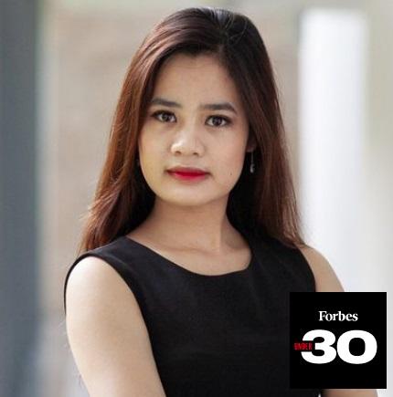 3 cô gái Việt Nam lọt top 30 Under 30 châu Á của Forbes - Ảnh 2.