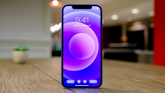 Cận cảnh iPhone 12 màu tím mộng mơ - Ảnh 6.