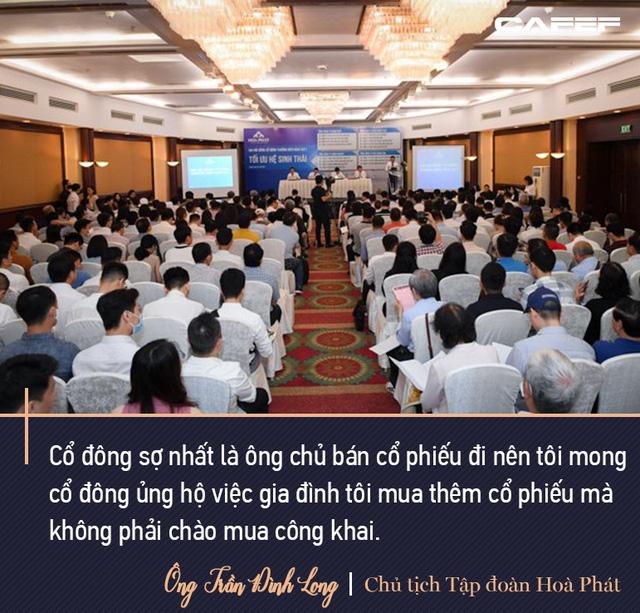 Tỷ phú Long: Không ai làm thép mãi được. Doanh thu sau này 200.000 tỷ thì Hòa Phát phải đa ngành, trong đó có bất động sản - Ảnh 11.