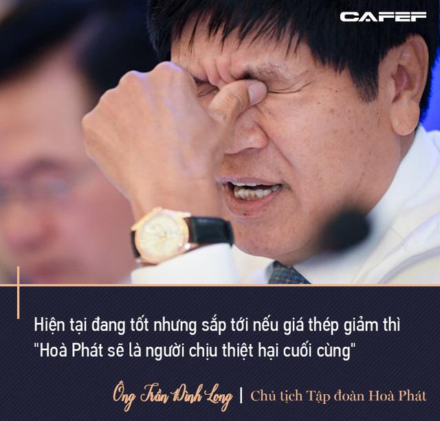 Tỷ phú Long: Không ai làm thép mãi được. Doanh thu sau này 200.000 tỷ thì Hòa Phát phải đa ngành, trong đó có bất động sản - Ảnh 6.