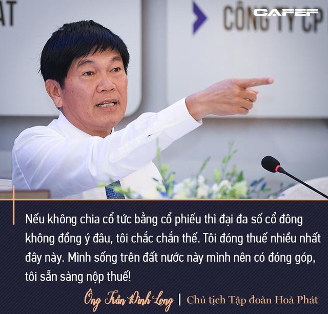 Tỷ phú Long: Không ai làm thép mãi được. Doanh thu sau này 200.000 tỷ thì Hòa Phát phải đa ngành, trong đó có bất động sản - Ảnh 7.