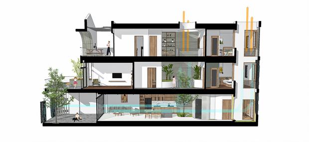 Sở hữu lô đất có vị thế đẹp, vợ chồng Đà Nẵng xây ngôi nhà nhỏ nhưng xuất sắc đến mức lên cả báo Mỹ - Ảnh 21.