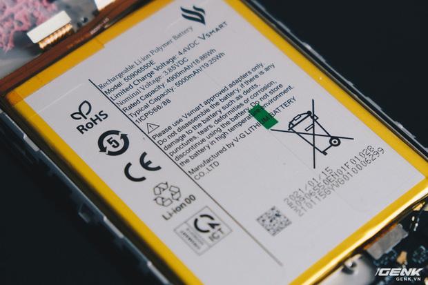 Vsmart Star 5 dùng pin do Vingroup tự sản xuất, không còn dựa vào nhà sản xuất bên ngoài - Ảnh 4.