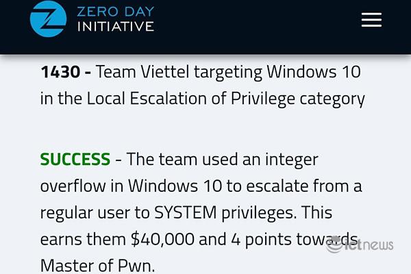 Tìm lỗ hổng bảo mật trong 5 phút, 2 chuyên gia Viettel thắng cuộc thi an ninh mạng lớn nhất thế giới: Người mới ra trường, người thuộc top chuyên gia thế giới - Ảnh 2.