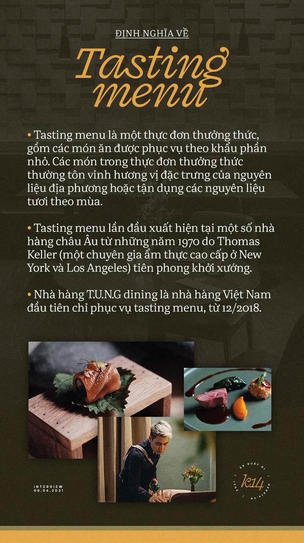 Bếp trưởng nhà hàng Hà Nội lọt top 100 châu Á: Bỏ sự nghiệp nước ngoài, về nước với công thức thành công chỉ sau 2 năm - Ảnh 2.