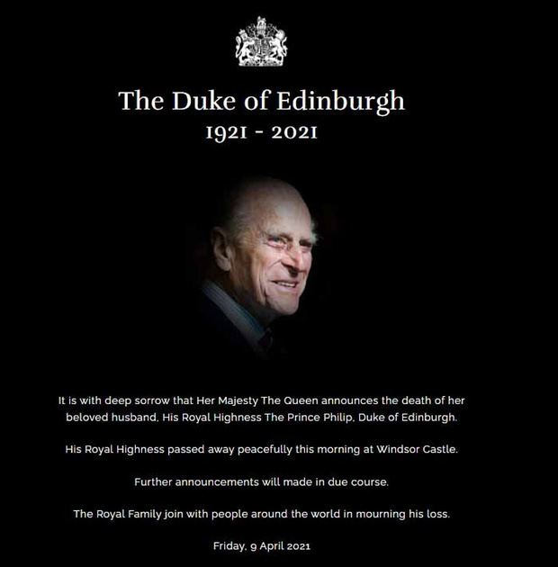 Những hình ảnh cuối cùng của chồng Nữ hoàng Anh - Hoàng tế Philip, trước khi qua đời ở tuổi 99 - Ảnh 1.