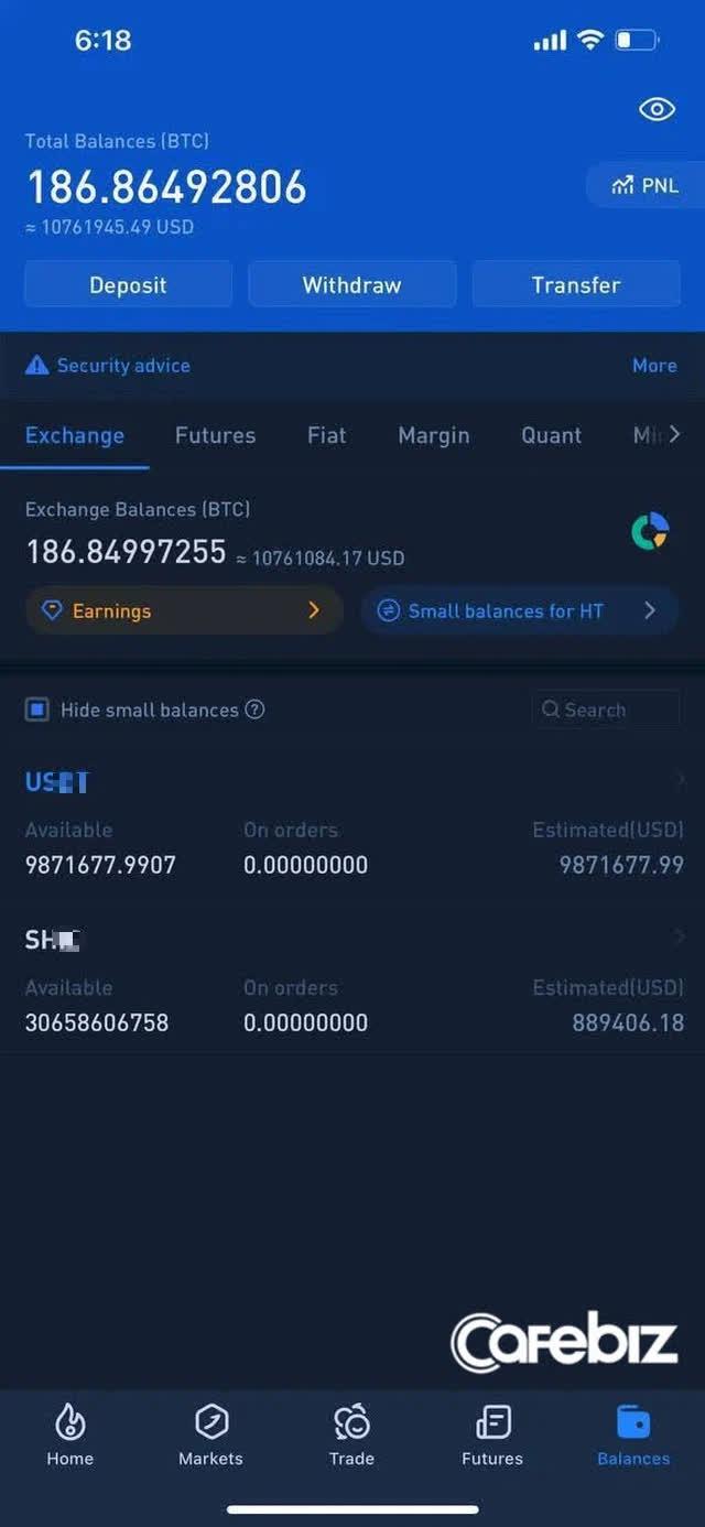 Facebook Ngọc Trinh bất ngờ khoe tài khoản crypto, tổng giá trị lên tới 10,8 triệu USD - Ảnh 1.