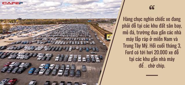 Mỹ hứng chịu hậu quả của cuộc khủng hoảng chip: Nhà máy đóng cửa, ô tô đắp chiếu vì không thể hoàn thiện, người mua giận dữ khi vài tháng không nhận được xe - Ảnh 1.