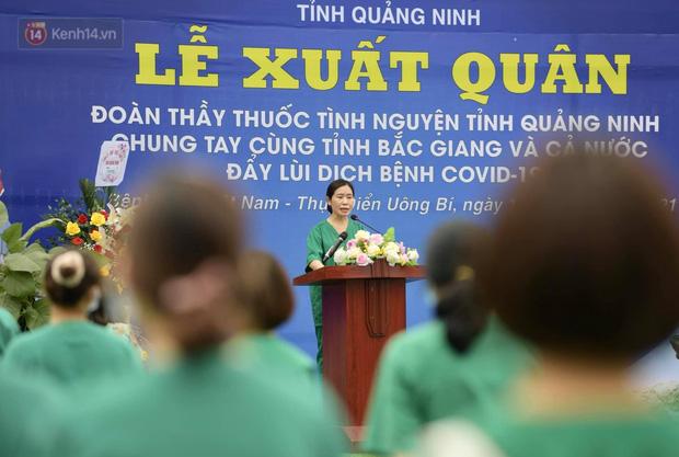 200 bác sĩ Quảng Ninh tình nguyện lên đường chi viện tâm dịch tại Bắc Giang - Ảnh 10.