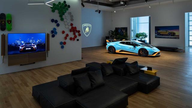 Bên trong câu lạc bộ VIP Lamborghini Lounge: Muốn bước chân vào cửa phải có giấy mời và đang sở hữu siêu xe  - Ảnh 9.