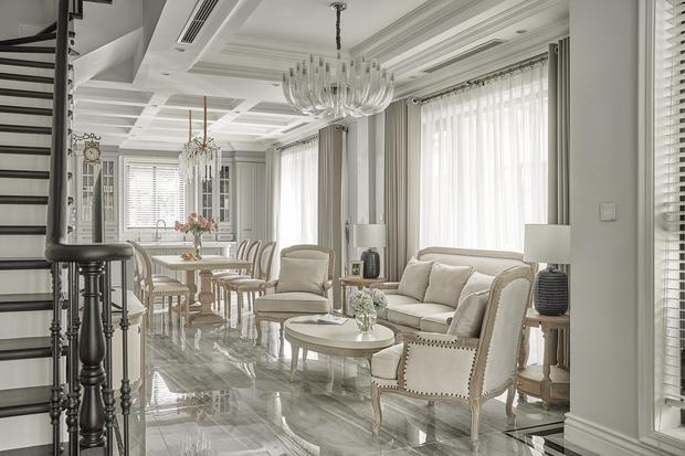 Chán chung cư, mẹ Hà Nội chi 2,5 tỷ sửa nhà Vinhomes, đo ni đóng giày nội thất theo phong cách Traditional chất như phim Mỹ - Ảnh 3.
