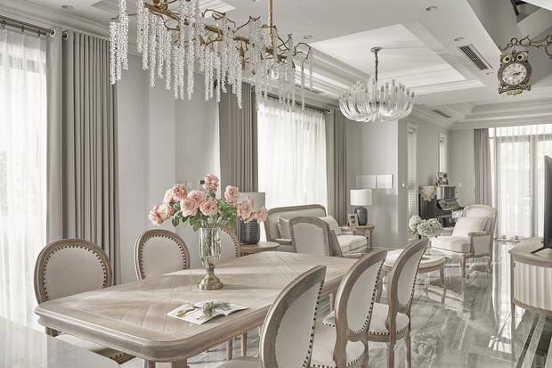 Chán chung cư, mẹ Hà Nội chi 2,5 tỷ sửa nhà Vinhomes, đo ni đóng giày nội thất theo phong cách Traditional chất như phim Mỹ - Ảnh 6.