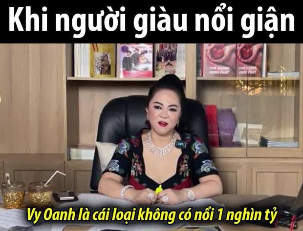 Đại gia Phương Hằng mắng Vy Oanh không có nổi 1000 tỷ, cõi mạng nghe mà nhột: 1 triệu em còn không có! - Ảnh 2.