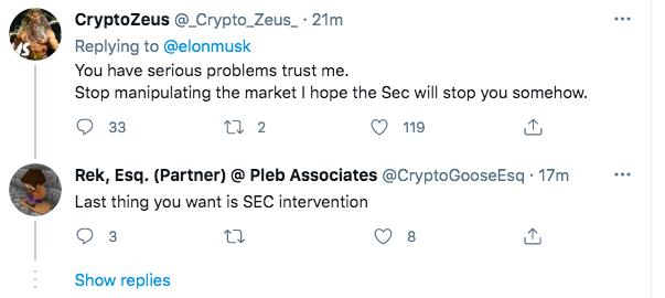 Elon Musk có động thái cứu thị trường, tweet khen ngợi 'Master of coin' - Ảnh 3.