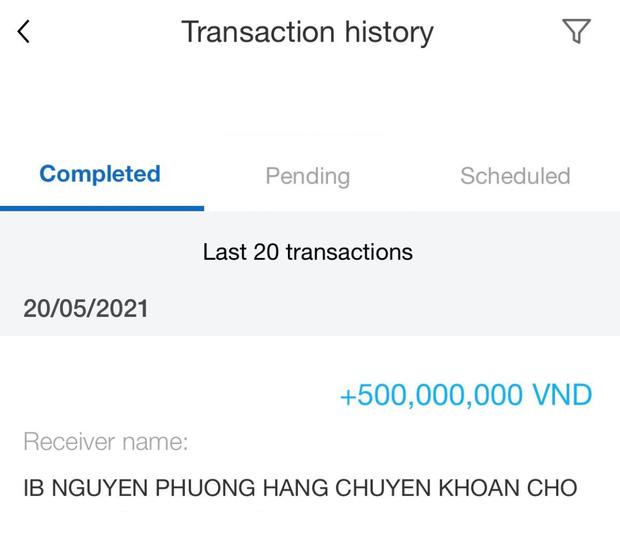 Thanh niên tự nhận giúp bà Phương Hằng lật mặt antifan khoe nhận được 1 tỷ liền tay, trả lại nữ đại gia 500 triệu để làm một việc - Ảnh 3.
