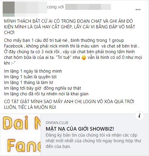 """NSND Hồng Vân tuyên bố clip mắng khán giả bị cắt ghép với ý đồ xấu, """"ngôi sao IT"""" đứng sau bà Phương Hằng phản bác: Thách dám kiện! - Ảnh 1."""