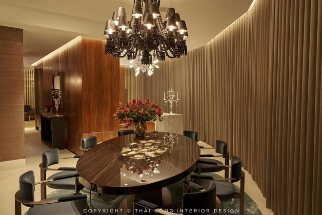 Khoe thiết kế căn hộ 85 tỷ, Thái Công tiếp tục cà khịa cư dân mạng coi chừng rối mắt nếu không quen phong cách sang trọng - Ảnh 7.