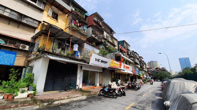 Hà Nội: Sắp cải tạo chung cư cũ Giảng Võ, Thành Công, Ngọc Khánh  - Ảnh 1.