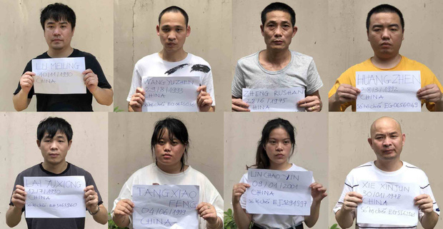 Bắt 11 người nước ngoài nhập cảnh trái phép vào TPHCM dịp lễ 30/4 và 1/5 - Ảnh 1.