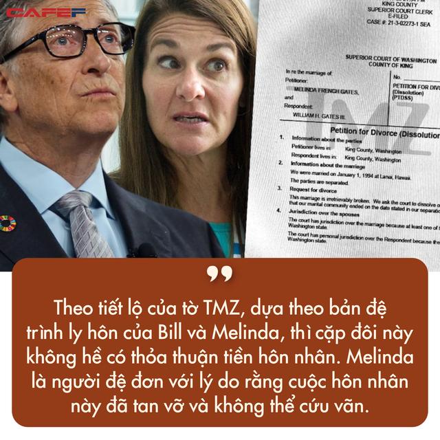 Không có hợp đồng tiền hôn nhân, Bill Gates sẽ mất một nửa trong số tài sản hơn 120 tỷ USD sau khi ly hôn?  - Ảnh 4.
