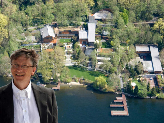 """Điểm tên loạt bất động sản """"khổng lồ"""" của vợ chồng Bill Gates - Ảnh 1."""