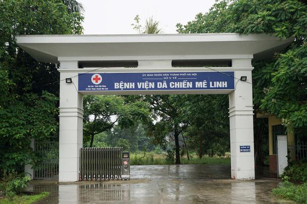 CLIP: Cận cảnh bên trong Bệnh viện dã chiến Mê Linh sẵn sàng tiếp nhận 300 F1 - Ảnh 3.