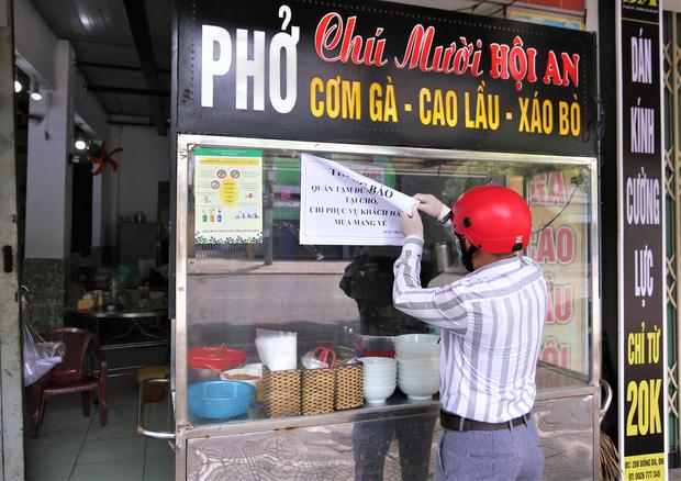 Đà Nẵng cấm phục vụ ăn uống tại chỗ kể từ trưa 7/5 để phòng dịch - Ảnh 2.