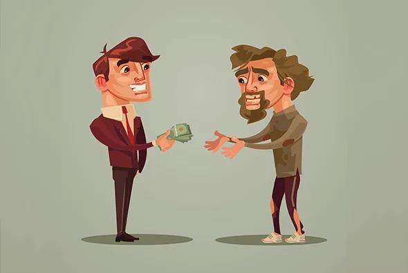 Lý do làm từ thiện của người giàu có gì khác biệt so với người thường? - Ảnh 1.