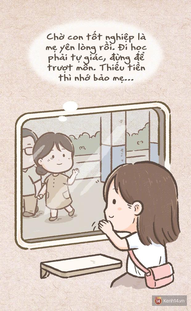 Bộ tranh: Cả cuộc đời, chỉ có mẹ là người duy nhất mãi mãi phải chờ đợi bạn - Ảnh 6.