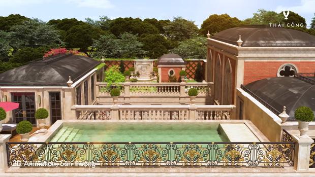 Thái Công tiếp tục vướng tranh cãi: Thiết kế biệt thự cồng kềnh đi mỏi chân, phòng tắm treo tận 8 đèn tường - Ảnh 18.