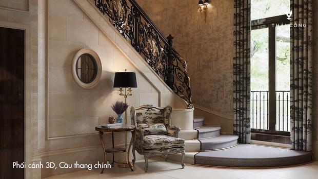 Thái Công tiếp tục vướng tranh cãi: Thiết kế biệt thự cồng kềnh đi mỏi chân, phòng tắm treo tận 8 đèn tường - Ảnh 5.