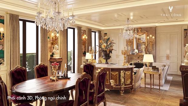 Thái Công tiếp tục vướng tranh cãi: Thiết kế biệt thự cồng kềnh đi mỏi chân, phòng tắm treo tận 8 đèn tường - Ảnh 9.