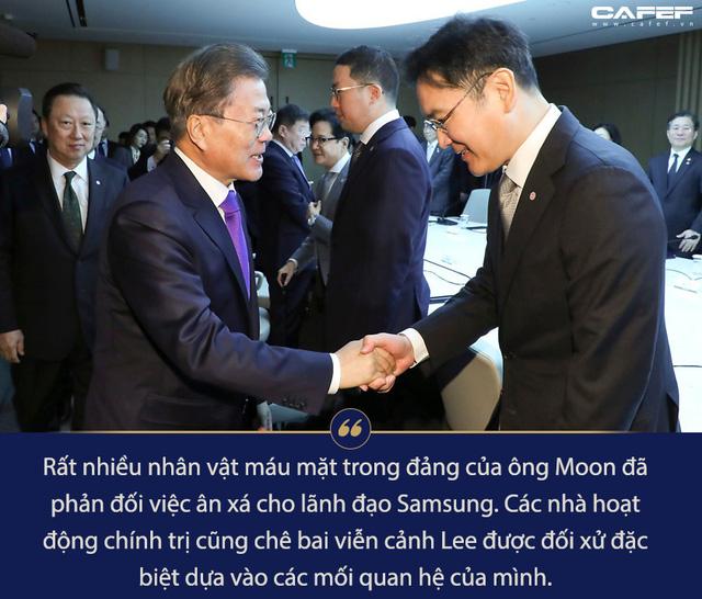 Tổng thống Hàn Quốc tiến thoái lưỡng nan vì Thái tử đang ngồi tù của Samsung - Ảnh 4.