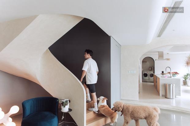 Cận cảnh penthouse 8 tỷ của Vũ Dino: Góc nào cũng chill, sofa hơn 100 triệu khiến khách chỉ muốn... làm biếng - Ảnh 9.