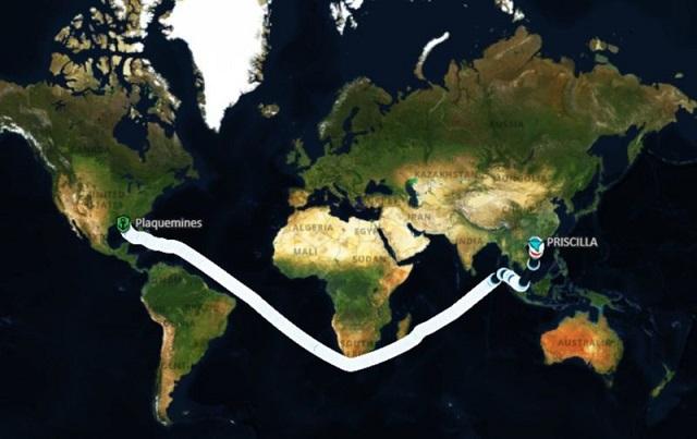 Trung Quốc mua ngô nhiều tới nỗi tắc cứng cảng  - Ảnh 1.
